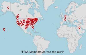 FFFAA Member Map