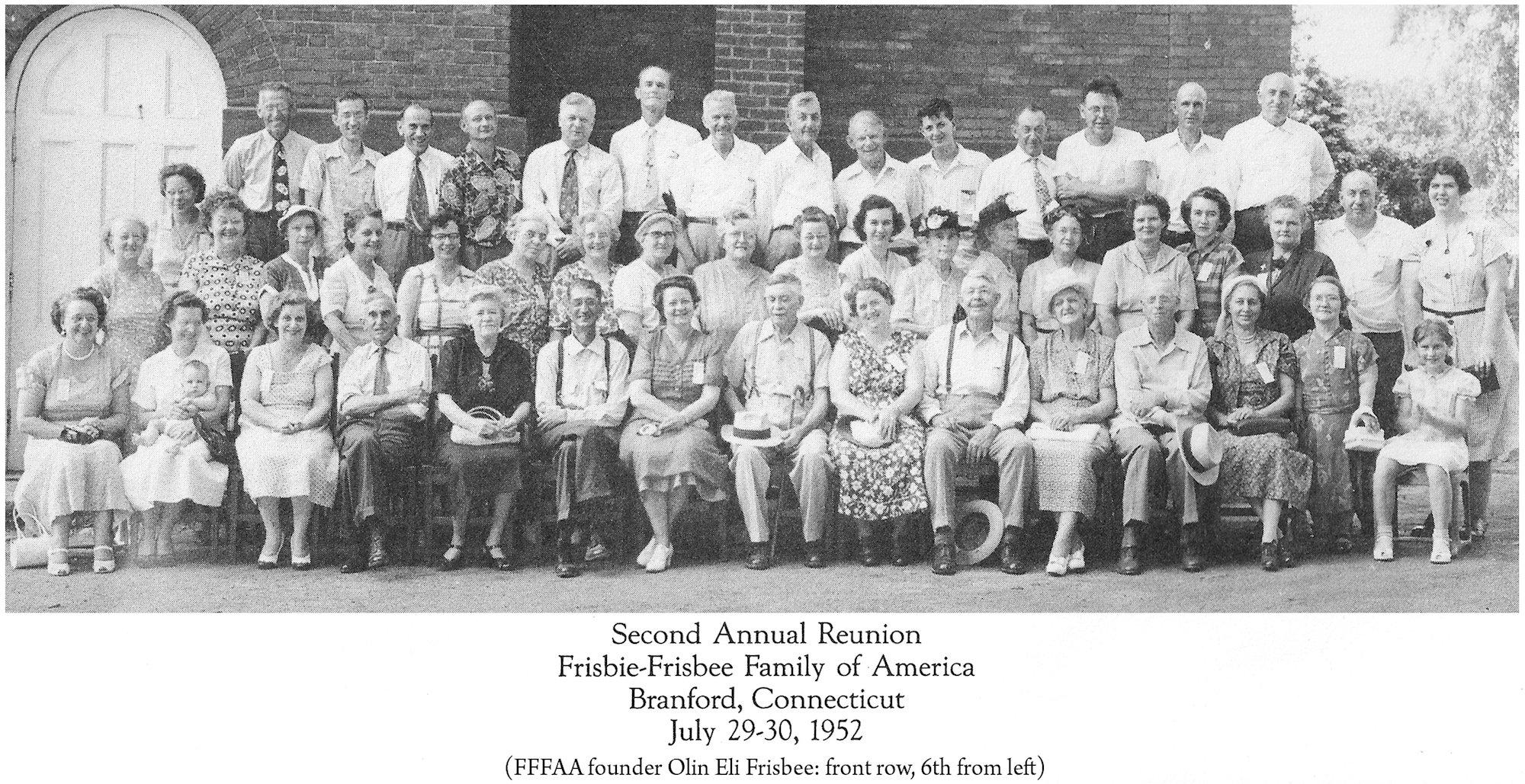 1952 FFFAA Reunion Branford CT
