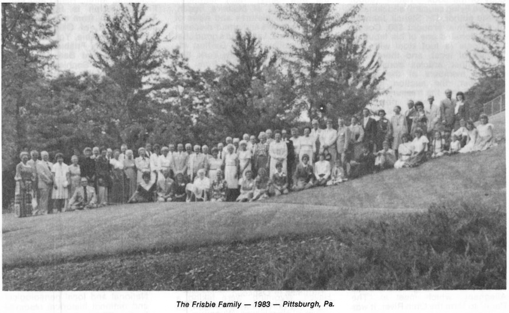 1983 FFFAA Reunion Pittsburgh PA