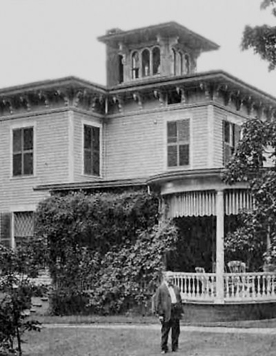 Charles Frisbie At His House 395 Main St Cromwell, CT 1853