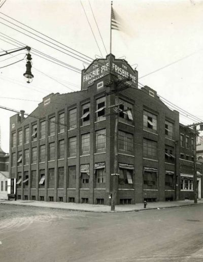 Frisbies Pie Bakery Bldg Bridgeport, CT Early 1900s
