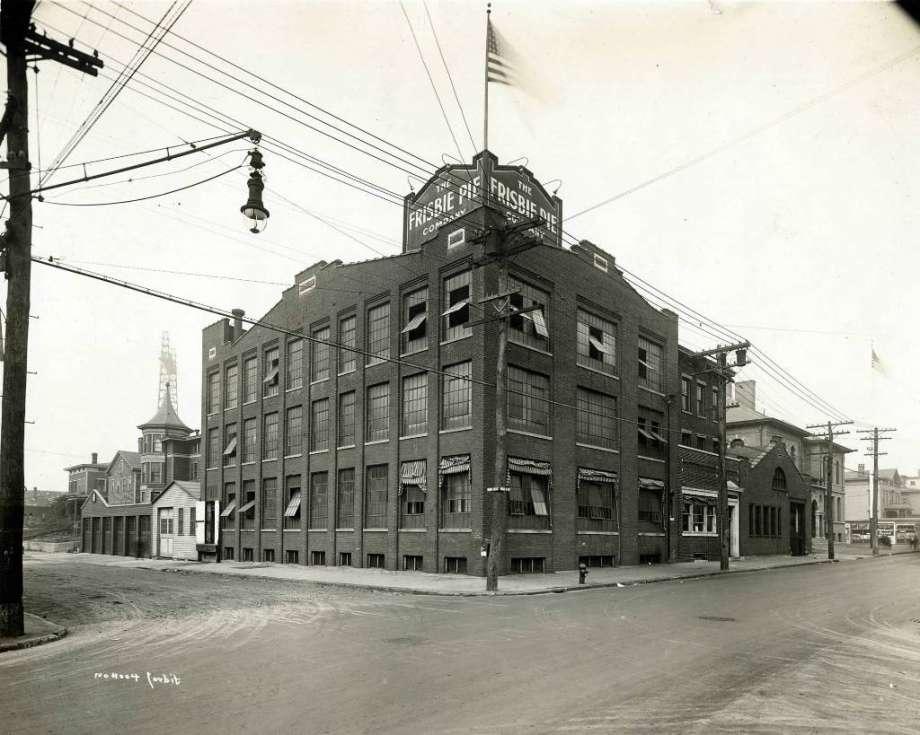 Frisbies Pie Bakery Bldg Bridgeport, CT Early 1900s