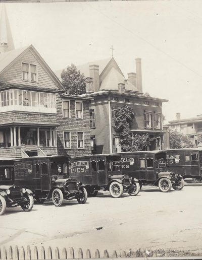 Frisbie's Pie Delivery Trucks, Bridgeport, CT