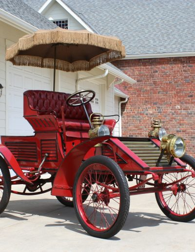 Russell Abner Frisbie 1901 Red Devil Car Cromwell, CT