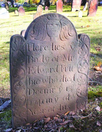 Edward Frisbie of Branford Grave