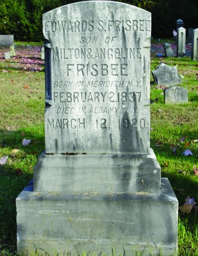 Edward Selah Frisbee Grave
